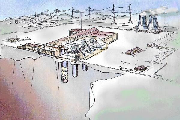 Проэкт подземной АЭС